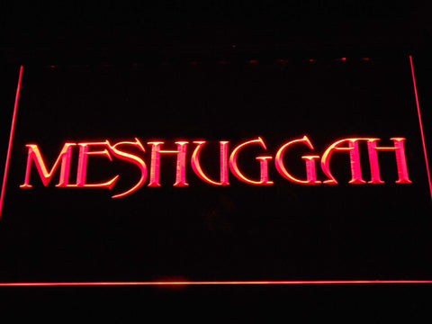 Meshuggah LED Neon Sign - Red - SafeSpecial