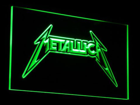 Image of Metallica LED Neon Sign - Green - SafeSpecial