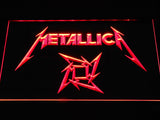 Metallica Star Logo LED Neon Sign - Red - SafeSpecial