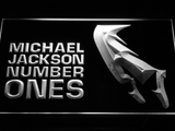 Michael Jackson Number Ones LED Neon Sign - White - SafeSpecial