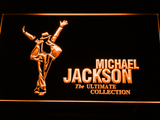 Michael Jackson Ultimate Collection LED Neon Sign - Orange - SafeSpecial