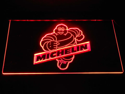 Image of Michelin Bibendum LED Neon Sign - Red - SafeSpecial