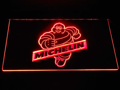 Michelin Bibendum LED Neon Sign - Red - SafeSpecial