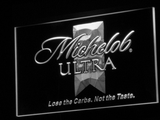 Michelob Ultra LED Neon Sign - White - SafeSpecial