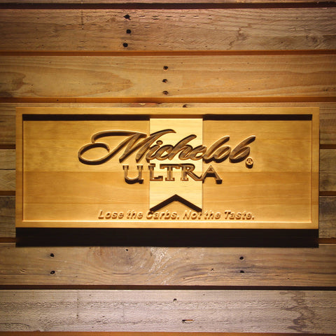 Michelob Ultra Wooden Sign - Small - SafeSpecial