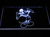 Mickey Mouse LED Neon Sign - White - SafeSpecial