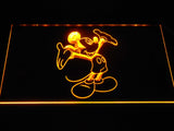 Mickey Mouse LED Neon Sign - Yellow - SafeSpecial