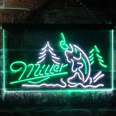 Miller Fish Neon-Like LED Sign - Dual Color