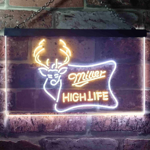 Image of Miller High Life 2 Neon-Like LED Sign - Dual Color
