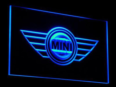 Mini LED Neon Sign - Blue - SafeSpecial