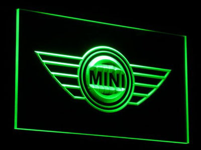 Mini LED Neon Sign - Green - SafeSpecial