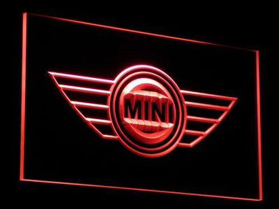 Mini LED Neon Sign - Red - SafeSpecial