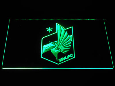 Minnesota United FC LED Neon Sign - Green - SafeSpecial