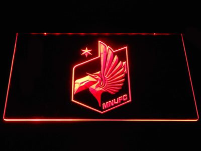 Minnesota United FC LED Neon Sign - Red - SafeSpecial