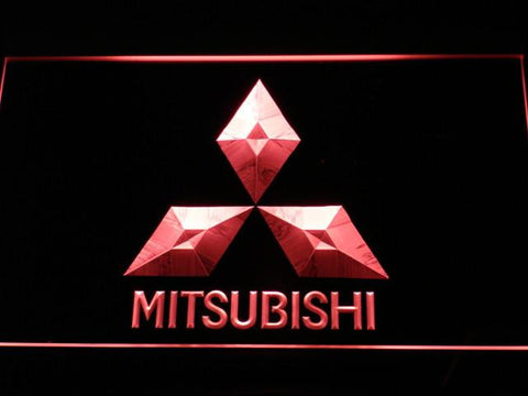 Image of Mitsubishi LED Neon Sign - Red - SafeSpecial
