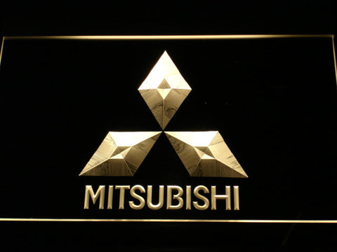 Image of Mitsubishi LED Neon Sign - Yellow - SafeSpecial