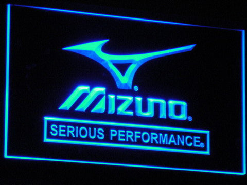Mizuno LED Neon Sign - Blue - SafeSpecial