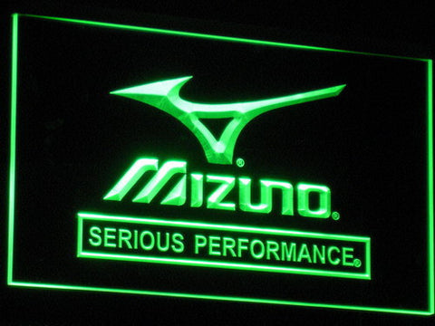 Mizuno LED Neon Sign - Green - SafeSpecial