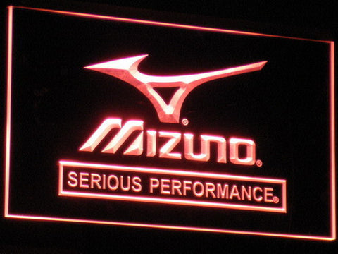 Mizuno LED Neon Sign - Red - SafeSpecial