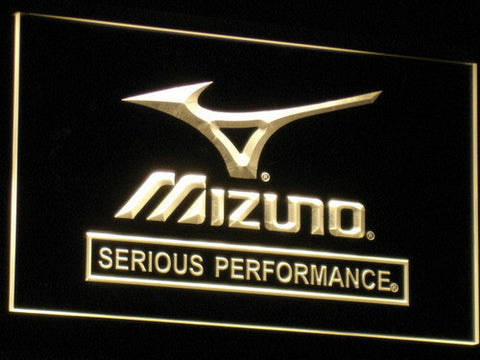 Mizuno LED Neon Sign - Yellow - SafeSpecial