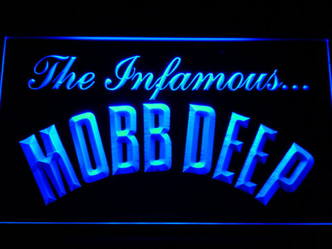 Mobb Deep LED Neon Sign - Blue - SafeSpecial