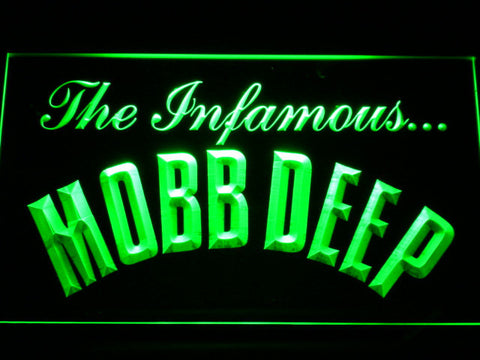Mobb Deep LED Neon Sign - Green - SafeSpecial