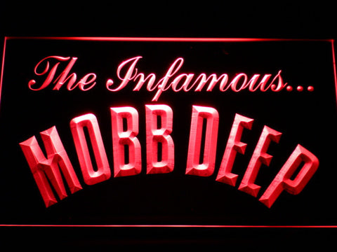 Mobb Deep LED Neon Sign - Red - SafeSpecial