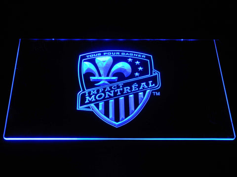 Image of Montreal Impact LED Neon Sign - Blue - SafeSpecial