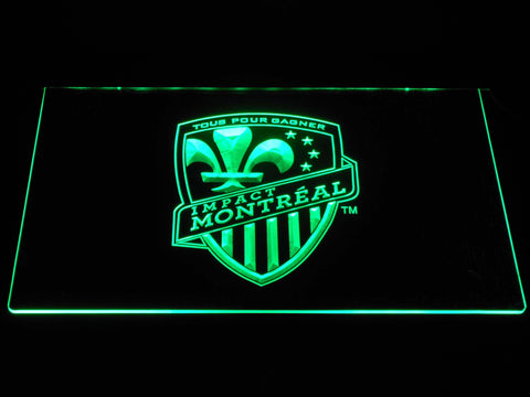 Image of Montreal Impact LED Neon Sign - Green - SafeSpecial