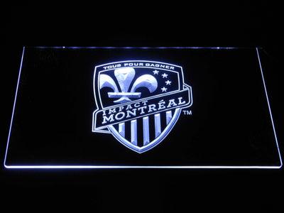 Montreal Impact LED Neon Sign - White - SafeSpecial