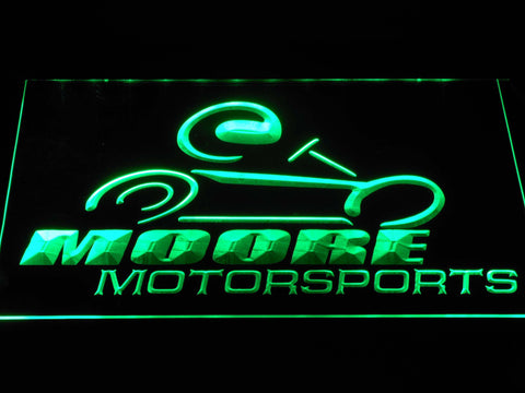 Image of Moore Motorsports LED Neon Sign - Green - SafeSpecial