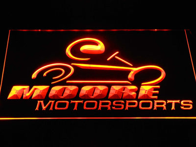 Moore Motorsports LED Neon Sign - Orange - SafeSpecial