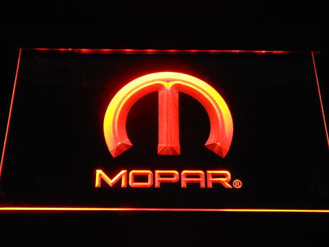 Image of Mopar LED Neon Sign - Orange - SafeSpecial