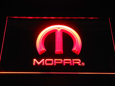 Image of Mopar LED Neon Sign - Red - SafeSpecial