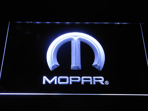 Image of Mopar LED Neon Sign - White - SafeSpecial