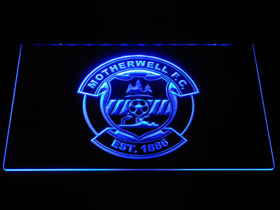 Motherwell F.C. LED Neon Sign - Blue - SafeSpecial