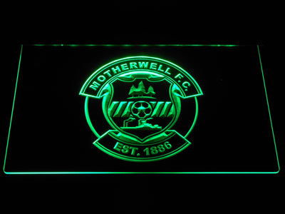 Motherwell F.C. LED Neon Sign - Green - SafeSpecial