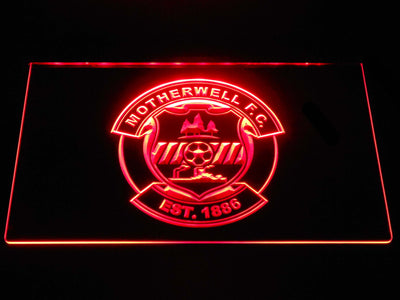 Motherwell F.C. LED Neon Sign - Red - SafeSpecial