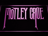 Motley Crue LED Neon Sign - Purple - SafeSpecial