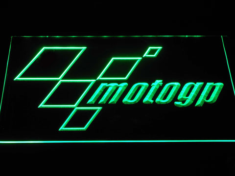 Image of MotoGP LED Neon Sign - Green - SafeSpecial