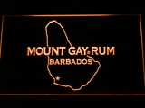 Mount Gay Rum Barbados LED Neon Sign - Orange - SafeSpecial