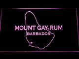 Mount Gay Rum Barbados LED Neon Sign - Purple - SafeSpecial