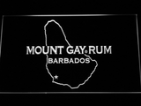 Mount Gay Rum Barbados LED Neon Sign - White - SafeSpecial