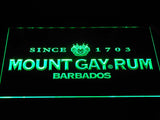 Mount Gay Rum Wordmark LED Neon Sign - Green - SafeSpecial