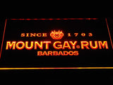 Mount Gay Rum Wordmark LED Neon Sign - Orange - SafeSpecial