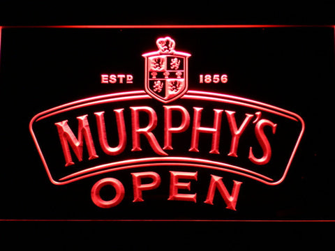 Image of Murphy's Open LED Neon Sign - Red - SafeSpecial