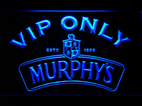 Murphy's VIP Only LED Neon Sign - Blue - SafeSpecial