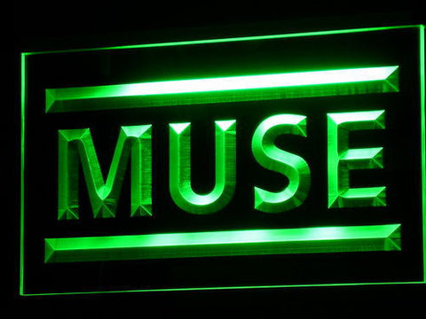 Muse LED Neon Sign - Green - SafeSpecial