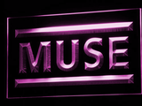 Muse LED Neon Sign - Purple - SafeSpecial
