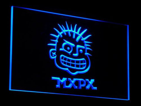 MxPx LED Neon Sign - Blue - SafeSpecial